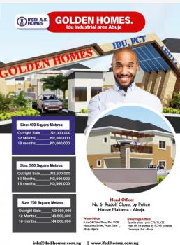 Golden Homes Estate, By Idu Train Station., Idu Industrial, Abuja, Residential Land for Sale
