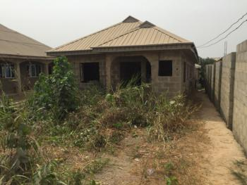 Detached Bungalow with 3nos of Flat on Half Plot of Land, Igbo Agbowa Oluodo, Ebute, Ikorodu, Lagos, Detached Bungalow for Sale