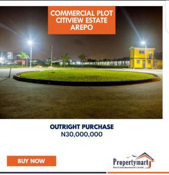 500sqm 100% Dry Land in a Prestigious Estate, Citiview Estate, Arepo, Via Ojodu, Ojodu, Lagos, Residential Land for Sale