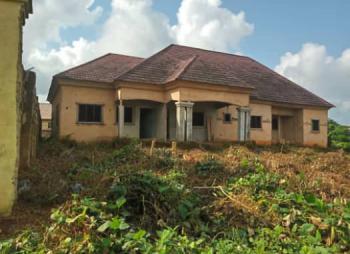90% Completed Bungalow Building of Two Flats of 4 Bedroom & 2 Bedroom, Ugbor Gra, Benin, Oredo, Edo, Detached Bungalow for Sale