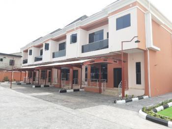 Luxury Serviced 4 Bedroom Terraced House with a Bq, Behind World Oil, Ilasan, Lekki, Lagos, Terraced Duplex for Sale