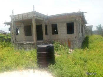 Uncompleted 5 Bedroom Duplex on Full Plot, Behind Novare Mall, Sangotedo, Ajah, Lagos, Detached Duplex for Sale