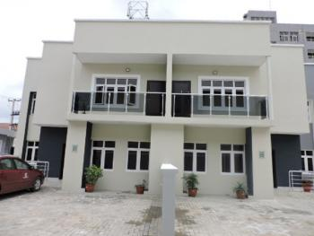 a Newly Built 4 Bedroom Well Finished Terrace House with 1 Room Bq, Dideolu Estate, Victoria Island (vi), Lagos, Terraced Duplex for Sale