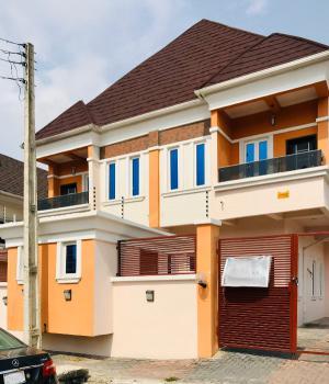 Spacious 4 Bedroom Semi Detached Duplex with Staff Room (no Flooding), Before Chevron, Idado, Lekki, Lagos, Semi-detached Duplex for Sale
