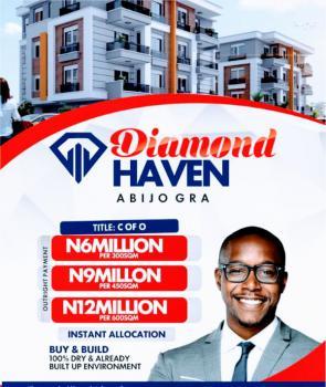 Certifiicate of Occupancy Estate Land Good Area 100percnt Dry Land, Abijo Gra 3minutes Away From Shoprite, Sangotedo, Ajah, Lagos, Residential Land for Sale