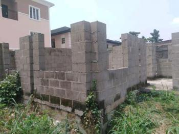Standard 335sqm Land with Structure Up to Limited Level.c of O, Akora Estate, Adeniyi Jones, Ikeja, Lagos, Residential Land for Sale