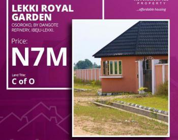 Own a Genuine Land, Osoroko, Ibeju Lekki, Lagos, Mixed-use Land for Sale