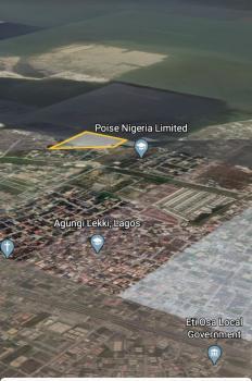 2 Acres Waterfront Plots, Osapa, Lekki, Lagos, Mixed-use Land for Sale
