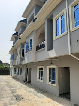 Spaciour and New 4 Bedroom Terrace Duplex with Penthouse Master Bedroom, Within Blenco Supermarket Before Shop Rite, Sangotedo, Ajah, Lagos, Terraced Duplex for Rent