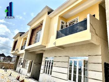 Lovely 4 Bedrooms +room Bq Semi Detached Terrace for Office, Oral Estate,chevron Axis,lekki, Lekki Expressway, Lekki, Lagos, Terraced Duplex for Rent