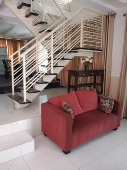 a Very Well Finished and Fully Furnished /fitted  4 Bedroom + 1rbq, Awuse Estate Opebi Lagos, Opebi, Ikeja, Lagos, Terraced Duplex for Rent