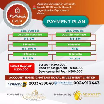 Northbrooks, Opposite Christopher University, Mowe Ofada, Mowe Ofada, Ogun, Residential Land for Sale