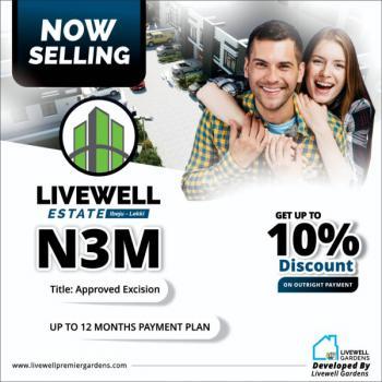 Land, Livewell Estate, Ogogoro, Ibeju Lekki, Lagos, Land for Sale