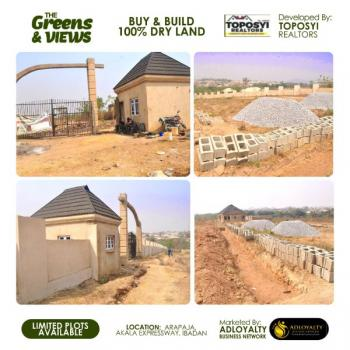 The Greens & Views. Best Real Estate Investment Deal, Arapaja, Akala Expressway, Apata, Ibadan, Oyo, Mixed-use Land for Sale