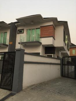 a Superb New Distress 4 Bedrooms Duplex with Bq, Osapa, Jakande, Lekki, Lagos, Semi-detached Duplex for Sale
