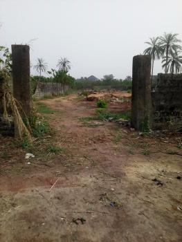 Fenced Four Plots of Land, Near Bishops Court, Orji, Owerri, Imo, Mixed-use Land for Sale