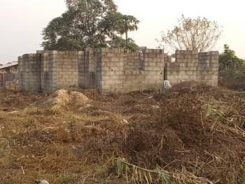 Uncompleted 4 Bedroom Bungalow on a  Full Plot, Idiagbon Area, After Winners Chapel, Iju Love Bus Stop, Sango Ota, Ogun, Detached Bungalow for Sale