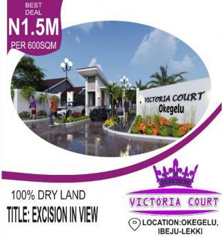 Estate Land, Dangote Refinery Okegelu Village Before Lacampage Close to The Road, Eleko, Ibeju Lekki, Lagos, Residential Land for Sale