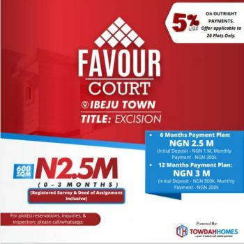 Estate Land, Dangote Refinery, Seaport, Sorrounded By Development, Eleko, Ibeju Lekki, Lagos, Residential Land for Sale