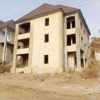 a Spacious and Well Built 6 Bedroom Detached Carcass Duplex, Institute and Research, Institution and Research, Abuja, Detached Duplex for Sale