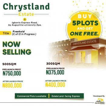 Land, Chrystland Estate, Igbonla Express Road By Augustine University, Epe, Lagos, Land for Sale