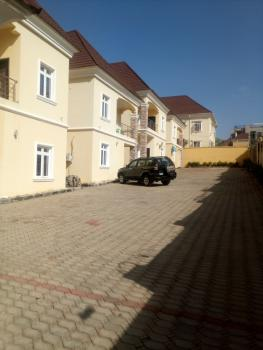 a Tastefully Finished New 4 Bedroom Terraced Duplex with 1 Room Bq, Guzape, Guzape District, Abuja, Terraced Duplex for Rent
