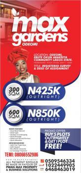 Special Offer, Max Gardens, Odeomi, Ebute Okun Abakeeta Community, Folu Ise, Ibeju Lekki, Lagos, Mixed-use Land for Sale