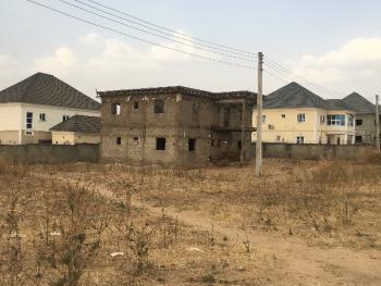 Fully Detached 5 Bedroom Carcass Duplex, Cajah Estate, Orozo, Abuja, Detached Duplex for Sale