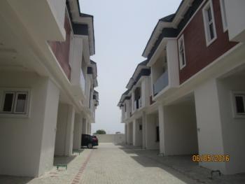 Luxury 4 Bed Terraced Duplex with Excellent Facilities, Chevron, Lafiaji, Lekki, Lagos, Terraced Duplex for Sale