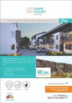 2 Units of 1 Bedroom Apartment, Ocean Bay Estate Off Orchid, Lafiaji, Lekki, Lagos, Mini Flat for Sale