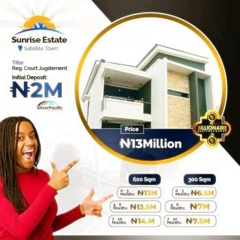 Land, Sunrise Estate, Festac, Amuwo Odofin, Lagos, Residential Land for Sale