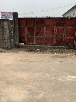 a Fenced Parcel of Land, Disney Avenue Off 5th Avenue Rumuibekwe Housing Estate (extension), Rumuibekwe, Port Harcourt, Rivers, Residential Land for Sale