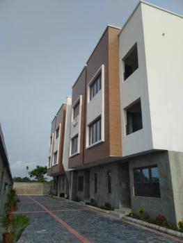 Tastefully Finished 4 Nos 4 Bedroom Terrace with Detached Bq, Elesan Village, Off Orchid Road, Lekki, Lagos, Lekki Phase 2, Lekki, Lagos, Terraced Duplex for Rent