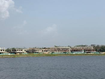Fantastic Water Front Land Measured, Chevron Twin-lake Estate By Chevron Bus Stop, Lekki Expressway, Agungi, Lekki, Lagos, Residential Land for Sale