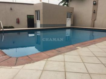 3 Bedroom Service Apartment with a Room Bq and Swimming Pool, Adeniyi Jones, Ikeja, Lagos, Flat for Rent