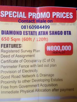 Affordable Plots of Land, Sango, Atan Ota, Ado-odo/ota, Ogun, Residential Land for Sale