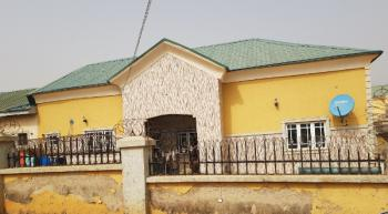 Well Refurbished 3 Bedroom Bungalow with Bq, Phase4, Army Estate, Kurudu, Abuja, Semi-detached Bungalow for Sale