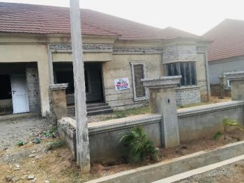 3 Bedroom Semi Detached Bungolaw, Estates Close to Treademore Estates ., Lugbe District, Abuja, Semi-detached Bungalow for Sale