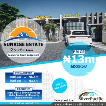 Sunrise Estate, Satellite Town Festac, Satellite Town, Ojo, Lagos, Mixed-use Land for Sale