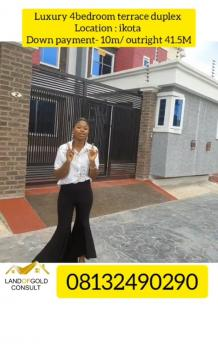 4 Bedroom Terraced Duplex, Ikota., Lekki Phase 2, Lekki, Lagos, Terraced Duplex for Sale