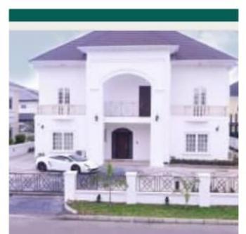 Luxury 5bedroom Mansion Plus 2rooms Bq, Calton Gate Estate Chevron, Lekki Expressway, Lekki, Lagos, Detached Duplex for Sale