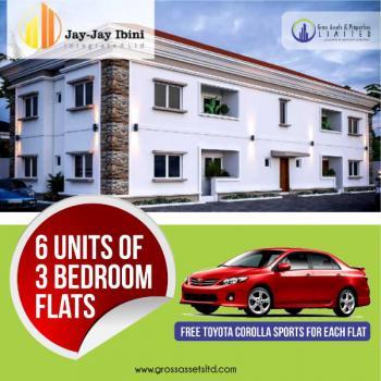 New 3 Bedroom Flats with Free Toyota-corolla Sports Car, 3 Minutes Drive to Abule Egba Bridge, New Oko-oba, Agege, Lagos, Flat for Sale