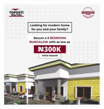 3 Bedroom Bungalow, Chesterville Park Estate, Camp Ologuneru, Ido, Oyo, Detached Bungalow for Sale