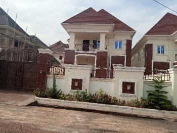 Luxury 4 Bedroom Duplex with a Bq in a Secure Estate, Thinkers Corner, Enugu, Enugu, Detached Duplex for Sale