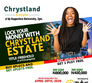Chrystland Estate Epe, By Agustine University Epe Express Road Epe, Epe, Lagos, Residential Land for Sale