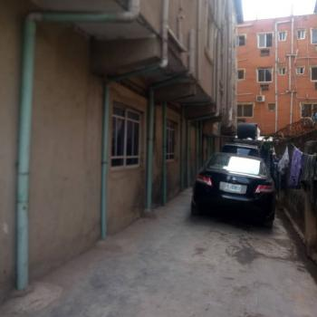 2bedroom 2toilets and Bath, Upstairs, Fenced Gated Parking, Ebute Metta West, Yaba, Lagos, Flat for Rent