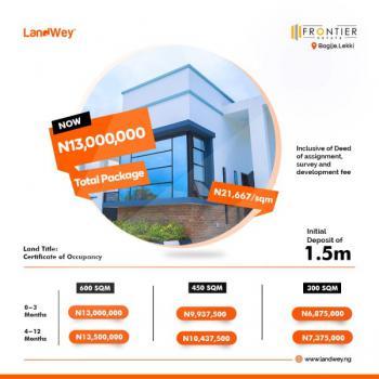 Land, Frontier Estate, Bogije, Ibeju Lekki, Lagos, Residential Land for Sale