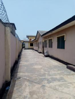 Building Consist of Two Unit of Three Bedroom with Four Shops, Isheri Olofin, Alimosho, Lagos, Detached Bungalow for Sale