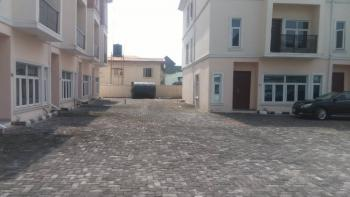 4 Bedroom Terraced Duplex with a Room Bq, Osapa, Lekki, Lagos, Terraced Duplex for Rent