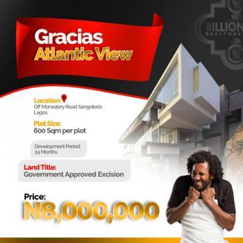 Land, Gracias Atlantic View Estate, Monastery Road, Sangotedo, Ajah, Lagos, Mixed-use Land for Sale